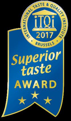 国際味覚審査機構 (iTQi) Superior Taste Award (優秀味覚賞)